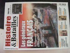 ** Histoire & batailles magazine n°12 Tacticiens français 14-18 39-45