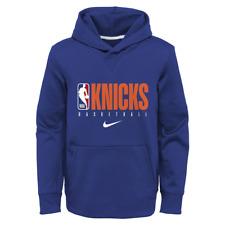 New York Knicks Nike Hoodie Kid's NBA Basketball Therma Spotlight Hoodie - New