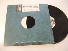 "2 Fabiola – Play This Song- Disco Mix 12""  Vinile ITALIA 1995 Progressive House"