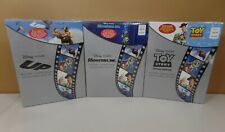 3 Disney Pixar Blu-Ray Combo Pack Collectible Sets Monsters Inc / UP / Toy Story