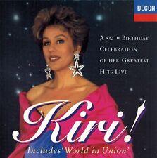 Kiri Te Kanawa - A 50th Birthday Celebration Of Her Greatest Hits Live (CD)