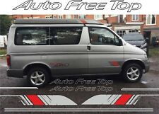 Mazda Bongo Friendee Auto Free Top Roof graphics stickers decals replacement kit