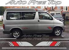 MAZDA Bongo friendee Auto Top Free TETTO ADESIVI DECALCOMANIE GRAFICHE KIT DI SOSTITUZIONE