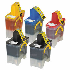 5 LC41 Ink Cartridge Set for Brother MFC-420CN Printer