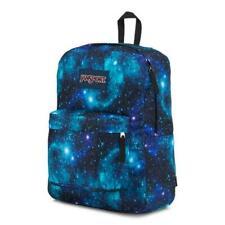 New JANSPORT SuperBreak BACKPACK Deep Space GALAXY SCHOOL BOOK BAG AUTHENTIC