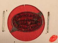 Vintage Harvest (Buchanan & Lyall, Bright Navy ) Tobacco Tag