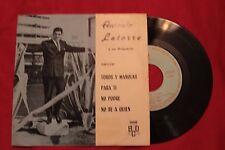 """ANTONIO LATORRE Toros Y Manolas / Para Ti /2+ 1968 EP 7"""" (EX-/EX) C"""