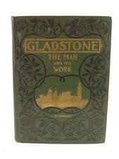 1898 William Ewart Gladstone,Biographical Study by Gunsaulus.Publisher's binding