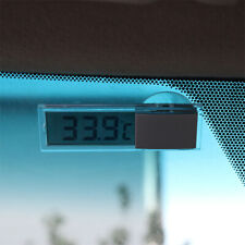 1x Transparent Digital LCD Auto Windscreen Temperature Thermometer Suction Cup