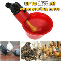 5 Fully Automatic Poultry Water Drinking Cups Pigeon Chicken Quai Float Drinker
