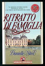 STEEL DANIELLE RITRATTO DI FAMIGLIA SPERLING PAPERBACK 1989 SUPERBESTSELLER 26