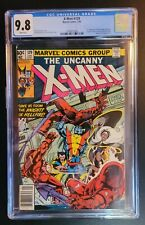X-Men #129 Newsstand CGC 9.8 White Pages 1st Appearances Kitty Pride, Emma Frost