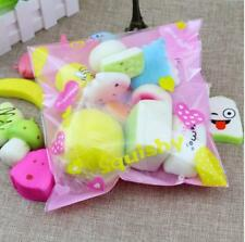 Hot Squishy Soft Squeeze Toy Slow Rising Charms Cat Donuts Panda Squishies 10pcs