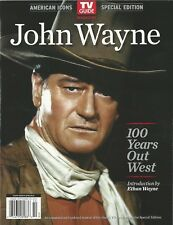 American Icons TV Guide Special Edition John Wayne 100 Years Out West NM
