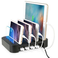 Detachable Universal Multi-Device 4-port USB Charger Charging Station Dock 24W