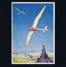 Segelflugzeug MINIMOA Sailplane * Schempp & Hirth Göppingen * Werbe-AK um 1930