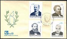 Argentina 1985 nacimiento Aniversarios FDC Primer Día Cubierta #C43419