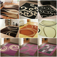 SMALL X LARGE MODERN 8-10 MM PATINA ALPHA BROWN GREY ORANGE CLEARANCE SALE RUGS