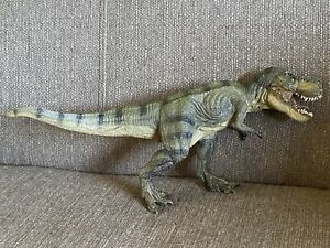 32cm Long PAPO T-REX TYRANNOSAURUS REX  Dinosaur Figure Moving Jaw 2012 RARE