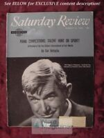 Saturday Review August 25 1962 WILL ROGERS JAN HOLCMAN DIZZY GILLESPIE