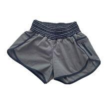 Lululemon Navy And Grey Striped Tracker Shorts Size 8 Reg Athletic