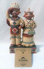 Jim Shore TRIBAL TAILS # 4022908 Native Indian Cats, w/ Tags Mint in Box 2011