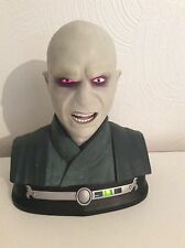 Rare Tomy Harry Potter Lord Voldemort talking Head Bust Figure Sounds Tested