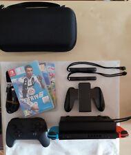 Nintendo switch + pro controller + Fifa 19+Splatoon 2+ Zelda+Custodia