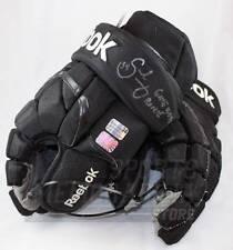 Carl Soderberg Boston Bruins Signed Autographed Rookie Game Worn Hockey Gloves