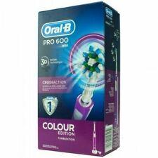 Oral-B Pro 600 Cepillo de Dientes Eléctrico - Morado