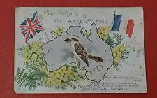 W.W.1. /  W.W. 2. MILITARY POSTCARD - AUSTRALIA RELATED.