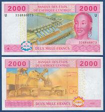CENTRAL AFRICAN STATES / CAMEROUN 2000 Francs 2002 UNC P.208U b