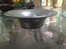 """Antique Vintage Pewter Bowl 7.5"""""""