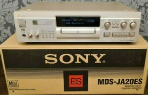SONY MDS-JA20ES 20 BIT TYPE R MINIDISC PLAYER AND RECORDER Exc CONDITION IN BOX