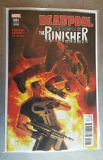 Deadpool Vs The Punisher #1 Greg Hildebrant 1:10 Variant Marvel Comics