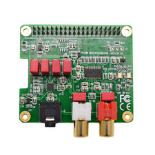 PCM5122 HiFi DAC HAT Expansion Board Audio Card for Raspberry Pi 4 / 3 B+ / zero
