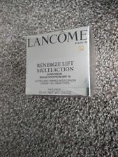 Lancome Renergie Lift Multi-Action sunscreen Cream 2.6 oz SPF 15 exp 05/21