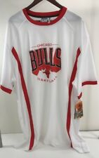 c8bc16cceb6 CHICAGO BULLS Basketball Men White Red Jersey Zipway VINTAGE NBA SIZE 3XL  NWT-