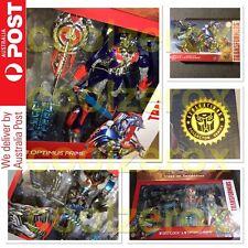 AUS Transformers - GRIMLOCK & OPTIMUS PRIME LEADER CLASS PLATINUM EDITION AOE
