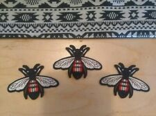 Bee Patches Small (3pcs) Gucci Style Iron On Patches Usa Shipping