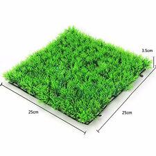 Acuario Planta de plástico Tropical Acuático Artificial Verde hierba pecera