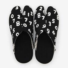 Tabi Slippers Ninjya SOU SOU KYOTO Room Shoes Black Japanese Traditional New