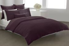 """DKNY """"INTUITION"""" FULL/QUEEN DUVET COVER & SHAMS SET - CURRANT - 3PC"""