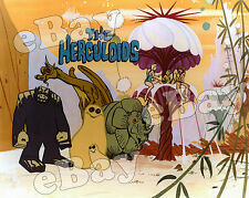 EXTRA LARGE! THE HERCULOIDS Poster Print #1 HANNA BARBERA Super Heroes