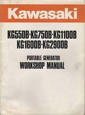 Kawasaki Kg550B,750B,1100B,1600B,2 900 Generator Manual
