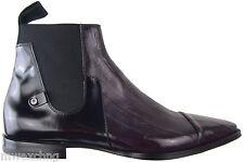 $960 Cesare Paciotti Eel Ankle Boots US 7.5 Italian Designer Shoes