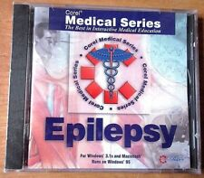 Corel Medical Series Epilepsy Interactive PC Computer Program Software - Sealed