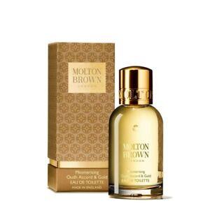 Molton Brown Mesmerising Oudh Accord & Gold EDT  50ml Brand New