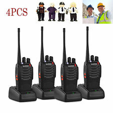 Baofeng BF-888S UHF 400-470 MHz 5W CTCSS Two-way Ham Radio 16CH Walkie Talkie 4X