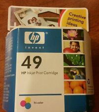 Genuine HP 49 Tri-color Ink Cartridge 51649A New in Box 22.8 ML Deskjet